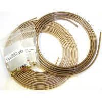T4 Cunifer copper nickel brake line kit with nuts