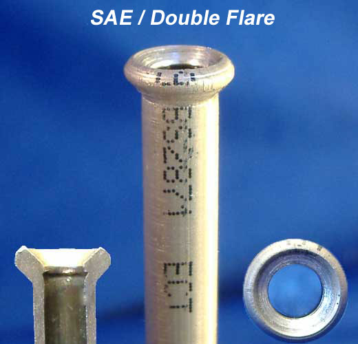 Copper Nickel brake line tubing with SAE double flare